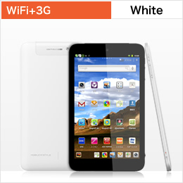 edenTAB WiFi +3G White JAN4562374131149