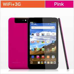edenTAB WiFi +3G Pink JAN4562374131163